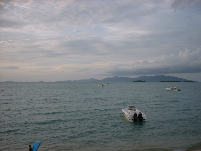 Kho Pha Ngan from Bhoput Beach